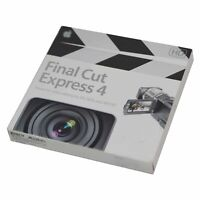 Apple Final Cut Express 4 Video Editing Software For Mac