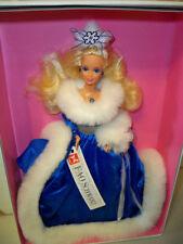 FAO Schwarz Winter Fantasy Barbie Doll NRFB Mattel 1990 Limited Edition (read)