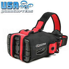 "Quanum DIY FPV Goggles V2 Pro with 5"" Monitor, Adjustable Lenses, Neoprene Cover"