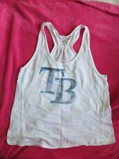 Womens Tampa Bay Rays Baseball Tank Top Shirt sz L