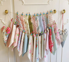 18 Fabric Remnants Shabby Chic Offcuts Patchwork Quilting Bundle Cath Kidston In