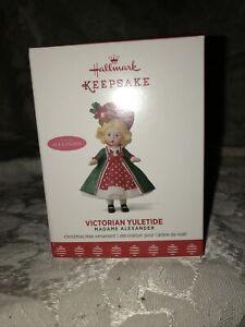 2017 Hallmark Keepsake Madame Alexander VICTORIAN YULETIDE Christmas  Ornament