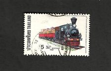 1977 Thailand SC#814 80th Anniversary of the State Railway of Thailand used