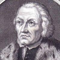 Portrait XVIIIe Martin Luther Théologien Réforme Protestante Luthéranisme