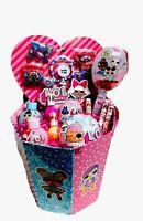 "LOL Surprise Dolls 18"" Beauty Bundle Gift Basket Set LILS Winter Disco Series"