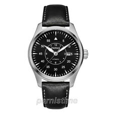 Parnis Sapphire 5 ATM Miyota Automatic Men Boys Pilot Watch 44mm Stainless Case