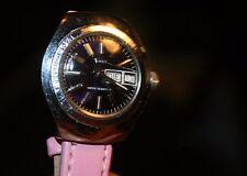 Timex Vintage Handaufzug 70er Damenuhr mit neuem Lederband, Topzustand F40