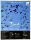DIANA Musical Pre Broadway La Jolla Cast Jeanna de Waal Signed Poster