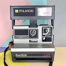 En Caja de películas instantáneas Polaroid Sun 600 LMS Cámara de película Probado Funcionando Retro Lomo!