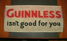 Vintage - Guinnless Bar Towel or Beer Mat