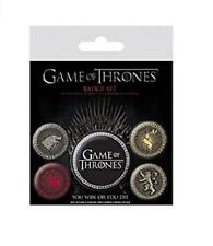 A Game of Thrones Four Great Houses Badge Pack -Winter Is Coming