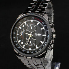 Boutique Men Stainless Steel 30M Life Waterproof Quartz Business Sport Watch
