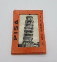 "1946 Souvenir of Italy ""Pisa"" 20 Vere Fotografie 20 B&W Photo Pack USS Missouri"