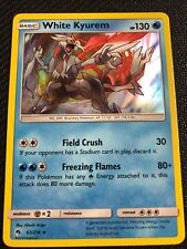 Pokemon : SM LOST THUNDER WHITE KYUREM 63/214 RARE HOLO