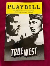 True West Broadway Playbill February 2019