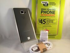 Verizon Samsung Galaxy Note 5 N920V 32GB GOLD Straight Talk **Credit Cards Only*