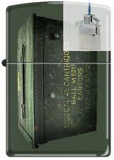 Zippo 221 Ammo Crate Can Lighter & Z-PLUS INSERT BUNDLE