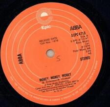 "Abba(7"" Vinyl)Money, Money, Money / Crazy World-Epic-S EPC 4713-Canada-Ex/VG"