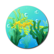 Leafy Sea Dragon in Seaweed Mouse Pad
