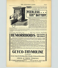 THE MYSTIC GENUINE ELECTRICITY BATTERY SURGICAL INSTRUMENTS FARADIC BATTERY