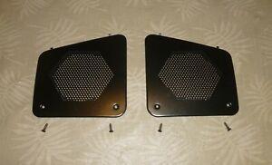 NICE OEM Ford Ranger / Bronco II Dash Speaker Grilles, 1983 -1988