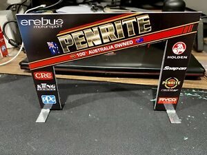 1:18 2019 Erebus Penrite Team Banner ONLY. Holden Commodore Reynolds De Pasquale