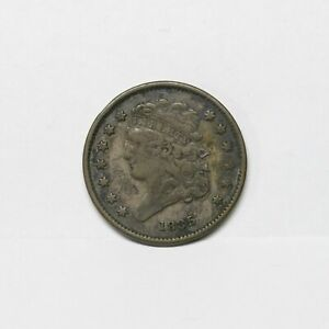 1835 1/2C Classic Head Copper Half Cent