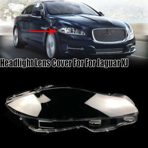 For Jaguar XJ 2010-2019 Right Side Headlight Headlamp Lens Replacement Cover