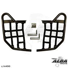 LTR 450 LTR450 Suzuki   Nerf Bars   Alba Racing   Black bar Black nets 195 T1 BB