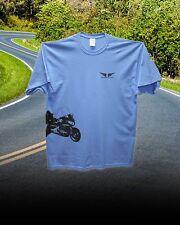 Honda Goldwing 1800 Trike Custom Tee Shirt... Iris Blue/Black