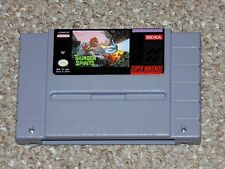 Thunder Spirits Super Nintendo SNES Cartridge