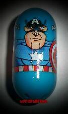 Marvel Universe Mighty Beanz 3 Captain America Bean 2010 Avengers Iron Man New