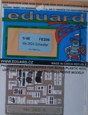 Eduard 1/48 couleur FE206 zoom etch pour le tamiya messerschmitt Me262A
