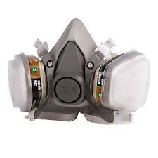 3M 6200 Half Face Gas Mask Respirator Painting Spraying 7 Pieces Suit Kit