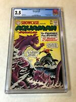 Showcase #30 CGC 2.5 origin AQUAMAN 1961 key issue Creatures Atlantis AQUALAD