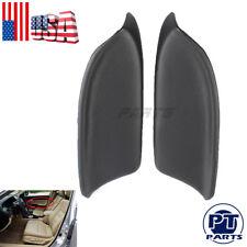 Black Front Left & Right Door Panel Armrest Cover For Honda Accord Sedan 08-12