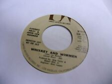 Canned Heat Whiskey and Wimmen/Same Mono 45 RPM United Artists Records VG+