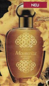 AVON EdT Mesmerize Mystique Amber 50 ml NEU/OVP