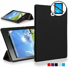 Black Smart Case Cover Shell for Acer Iconia One 7 B1-780 Screen Prot Stylus