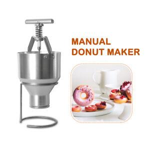 2.5L Manual Mini Donut Doughnut Machine Maker Manual Dispenser 6 Size
