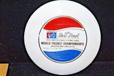 WHAM-O FRISBEE RARE BURRY MOLD 1975 ROSE BOWL DISC WORLD CHAMPIONSHIP 94 GRAMS