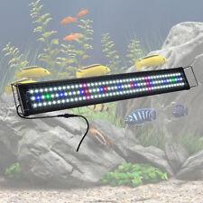 "129 LED Aquarium Light Full Spectrum Freshwater Marine 36""- 43"" Fish Tank Lamp"