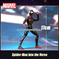 Marvel Spiderman into the Verse Miles Morales Comic Heroes 7in Action Figure Toy