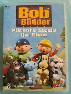BOB THE BUILDER Pilchard Steals the Show DVD NEW Region 4 see below