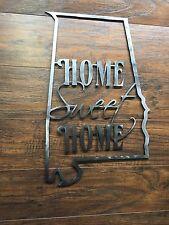 Texas State Outline Home Sweet Home Metal Wall Art Home Decor