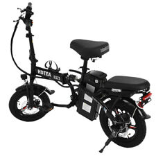 16INCH Folding Electric Bike Commuter Bicycle City Ebike With Removable Battery