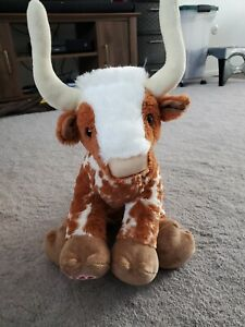 Build A Bear Texas Spotted Longhorn Plush (NEW!) (STUFFED)