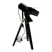 STEHLAMPE SPOT MIT KLAPPEN STRAHLER STATIVLAMPE LEUCHTE LAMPE STATIV METALL NEU