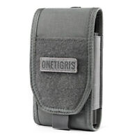 OneTigris Tactical Molle Cell Phone Pouch Holster Belt for iPhone X 5 6 7 8 Plus
