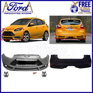Conversion Ford Focus ST MK3 2011-2014 Front Bumper Kit Complete New CM51-17757